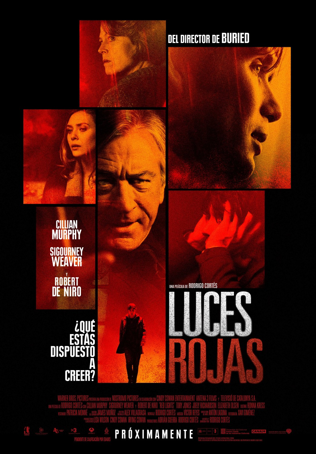 Luces Rojas trailer y poster final