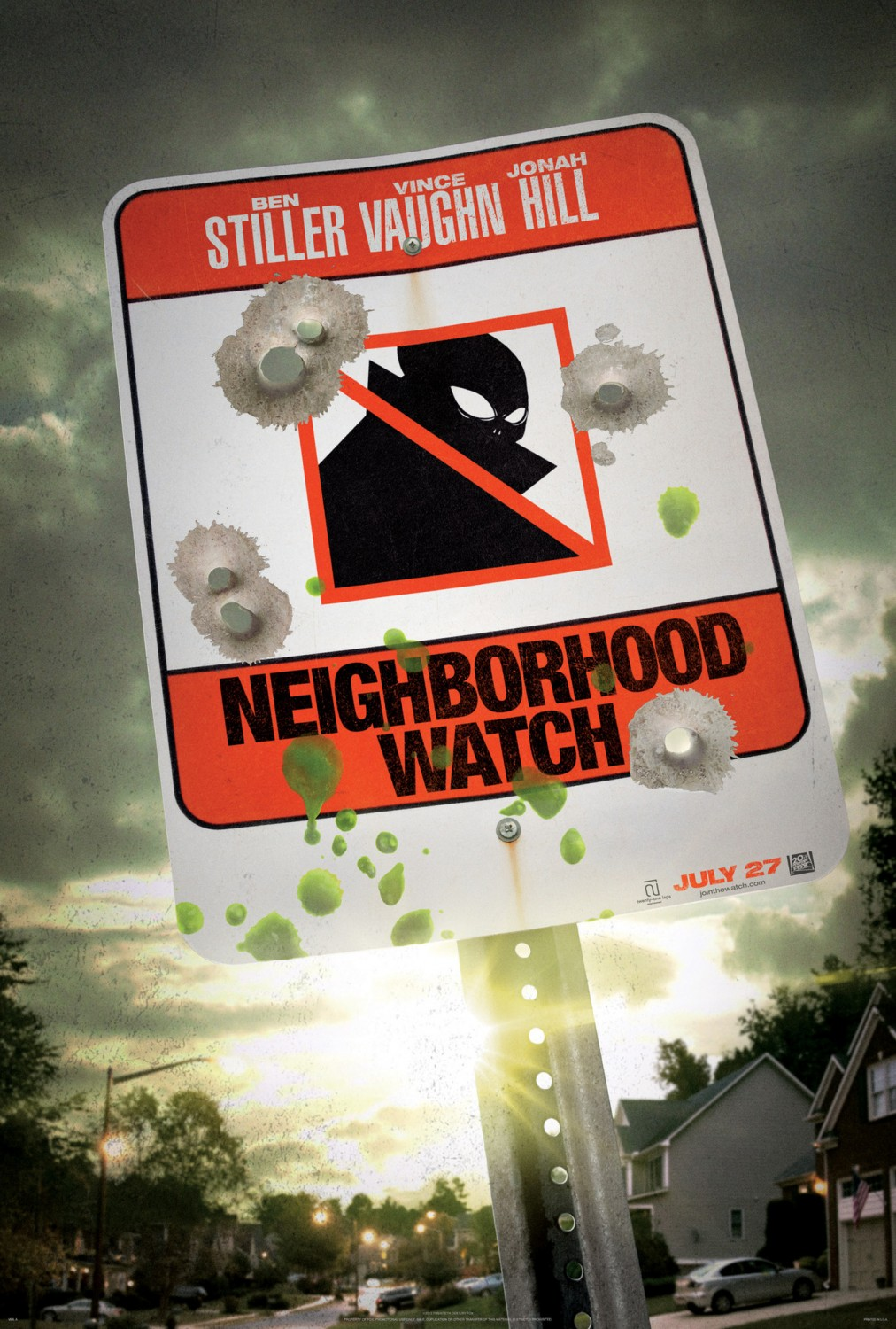 Neighborhood Watch teaser tráiler y poster
