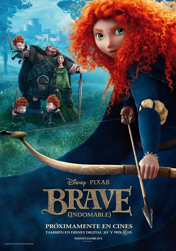 Brave (Indomable) tráiler final