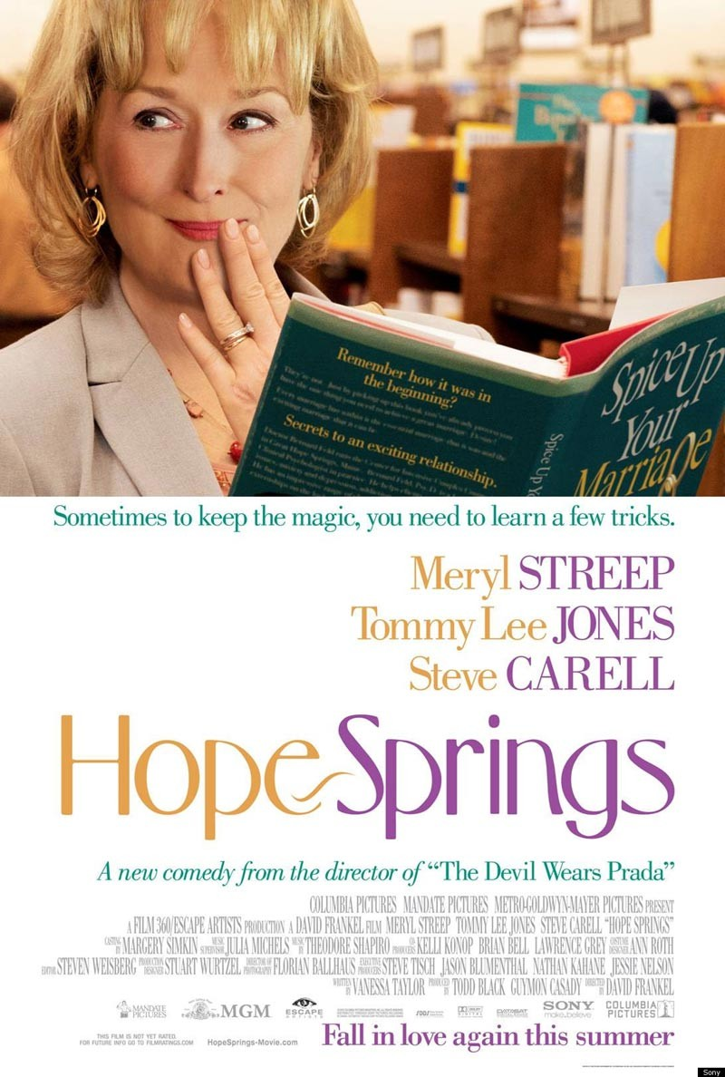 Hope Springs: Streep regresa a la comedia.