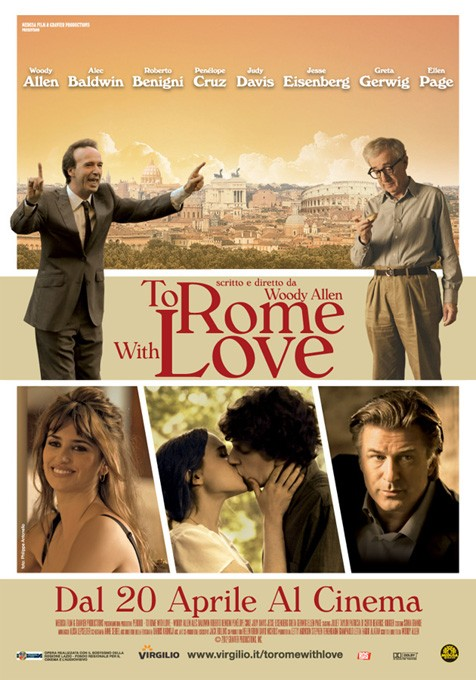To Rome with Love tráiler. Allen completa su periplo Europeo.