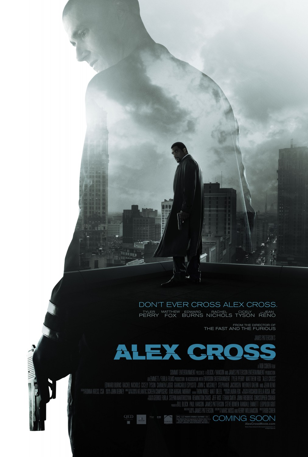 Alex Cross primer trailer.