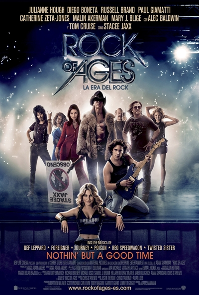 Rock of Ages (La Era del Rock) tráiler final: Cruise emula a Jovi.