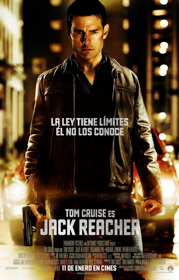 Jack Reacher tráiler final: seis disparos.