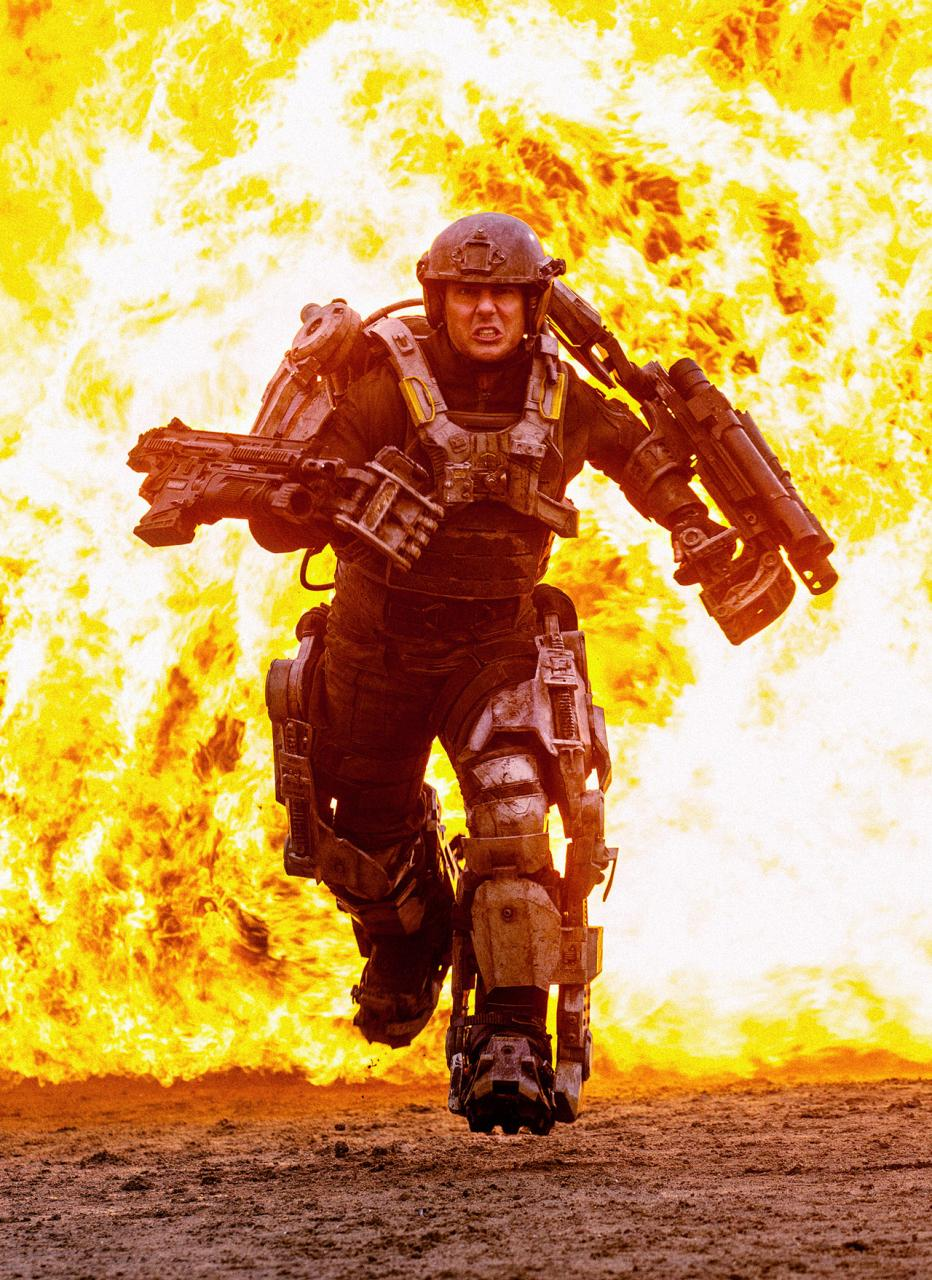 All you need is kill para Tom Cruise.