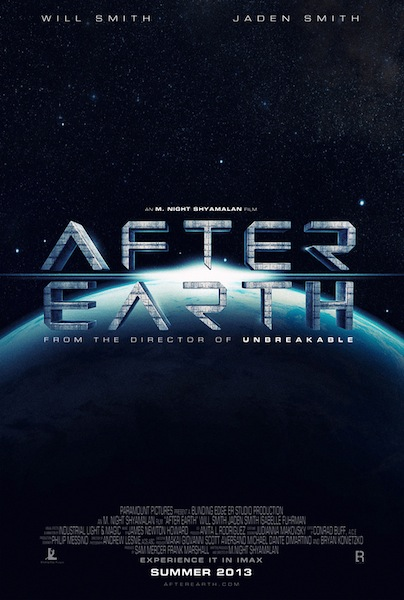 After Earth teaser tráiler: Smith e hijo regresan a La Tierra.