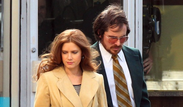 "Amy Adams & Christian Bale Film Scenes For ""Abscam"""