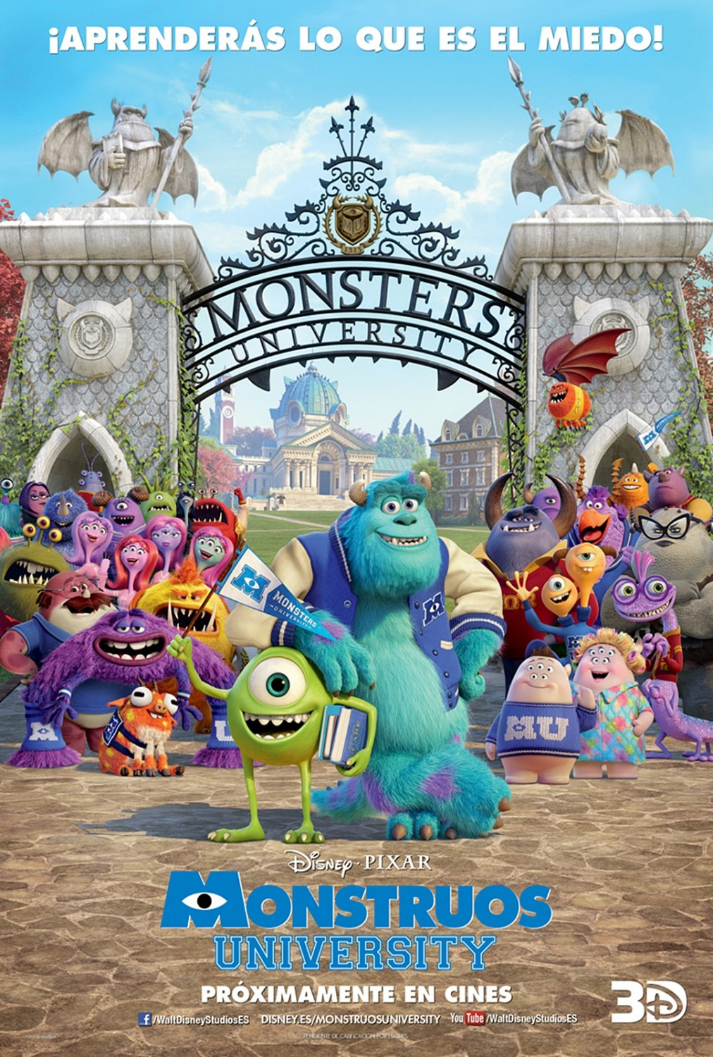 Monstruos University: Segura y Mota ya son Sulley y Mike.