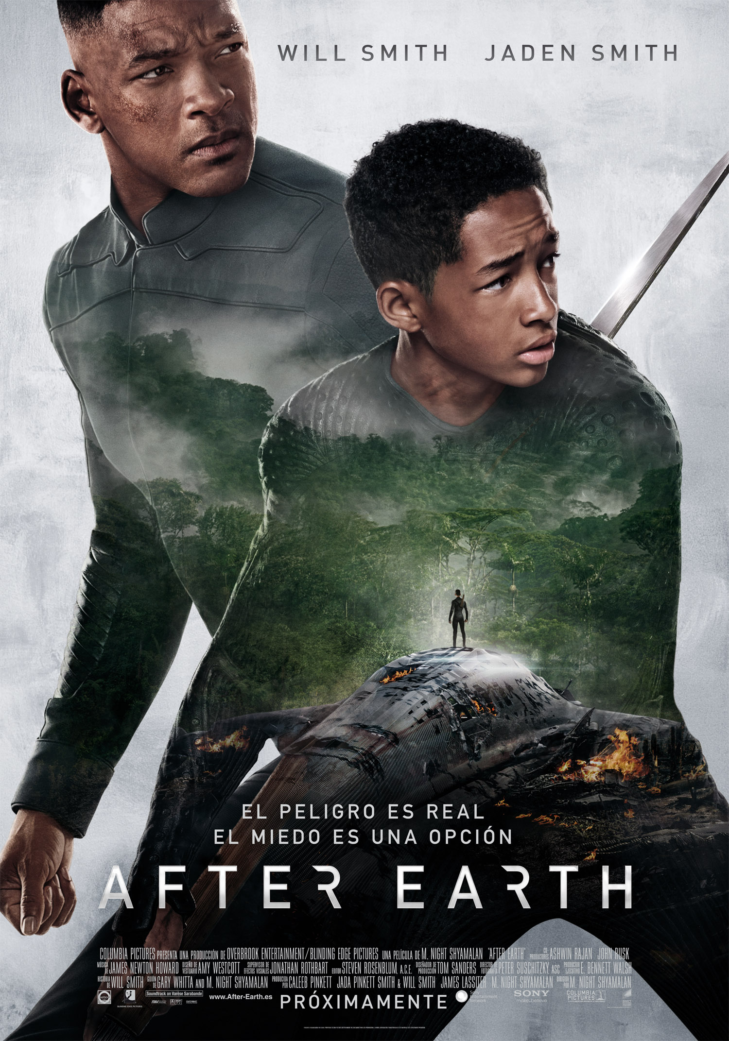 After Earth. Accidente familiar.