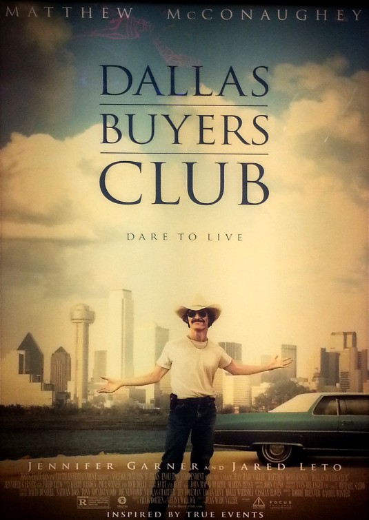 Dallas Buyers Club tráiler: McConaughey al límite.