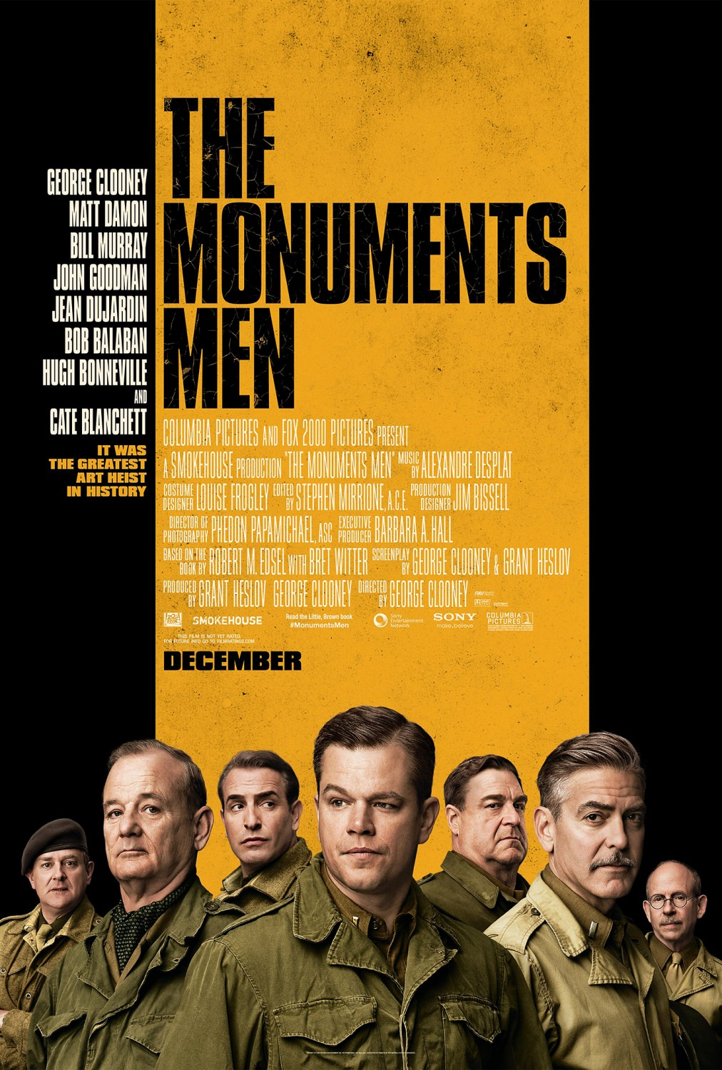 The Monuments Men tráiler: obras de arte.