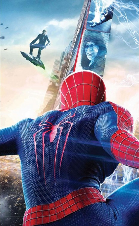 The Amazing Spiderman 2: El poder de Electro tráiler.
