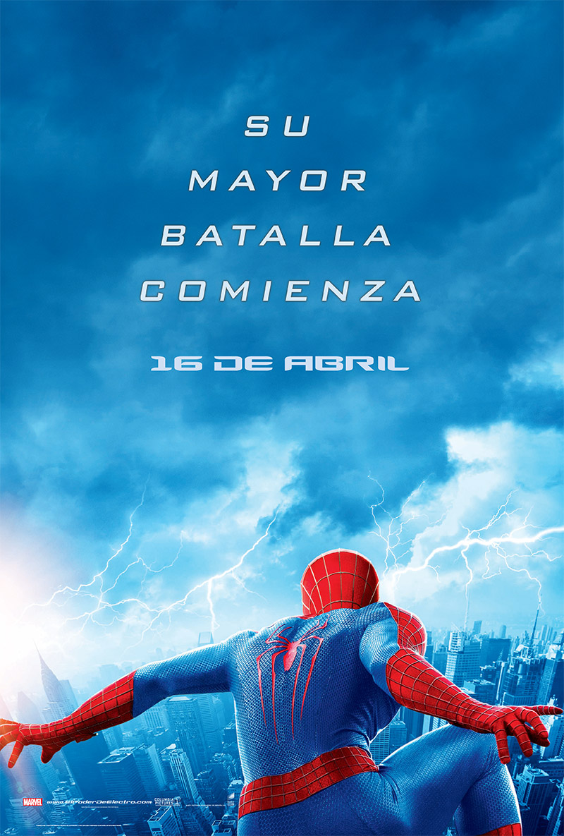 The Amazing Spiderman 2: El poder de Electro tráiler 2.