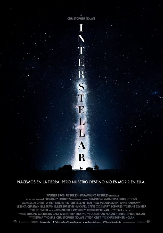 Interstellar tráiler final.
