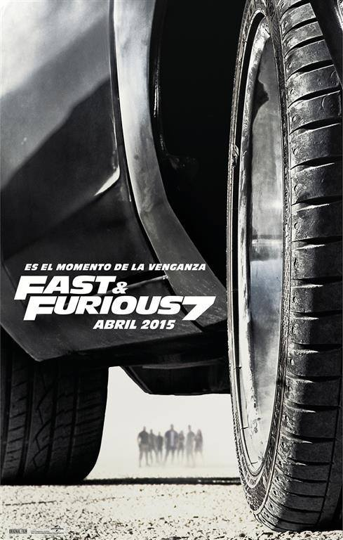 Fast and Furious 7 tráiler.