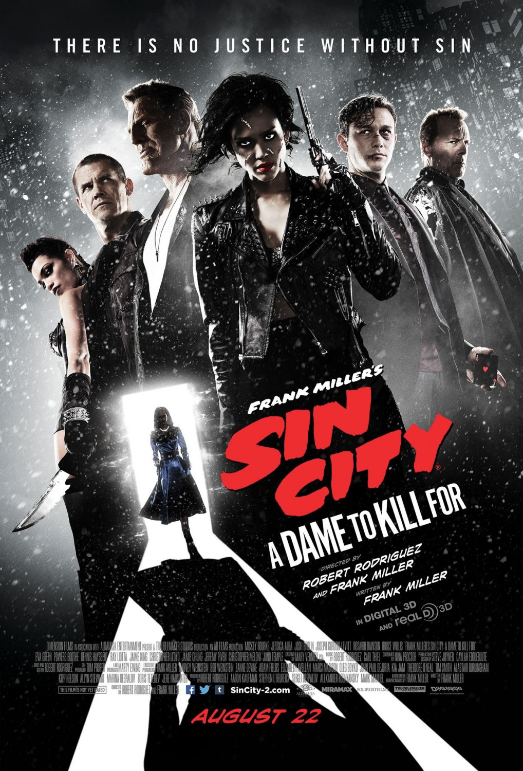 Sin City: A dame to kill for no llegará a los cines.