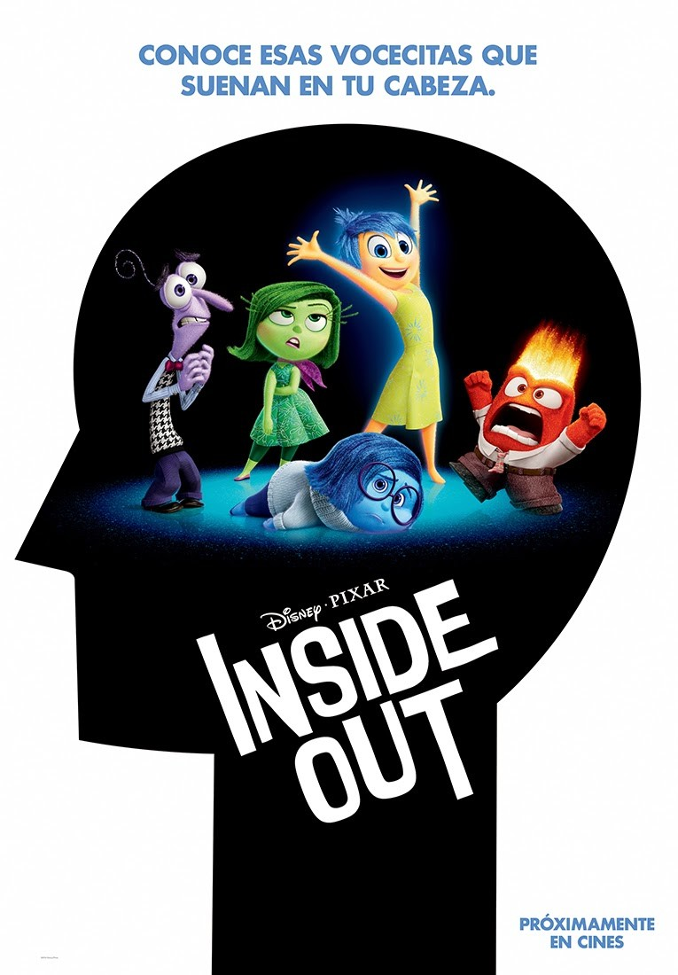 Inside out tráiler: las voces interiores.