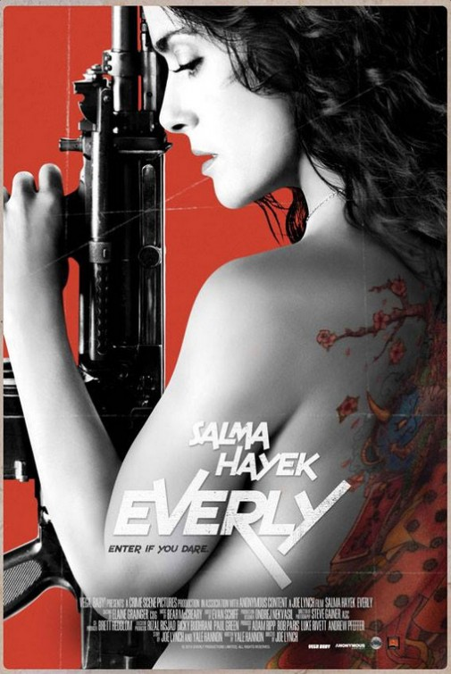 Everly tráiler: Hayek vs. El mundo.