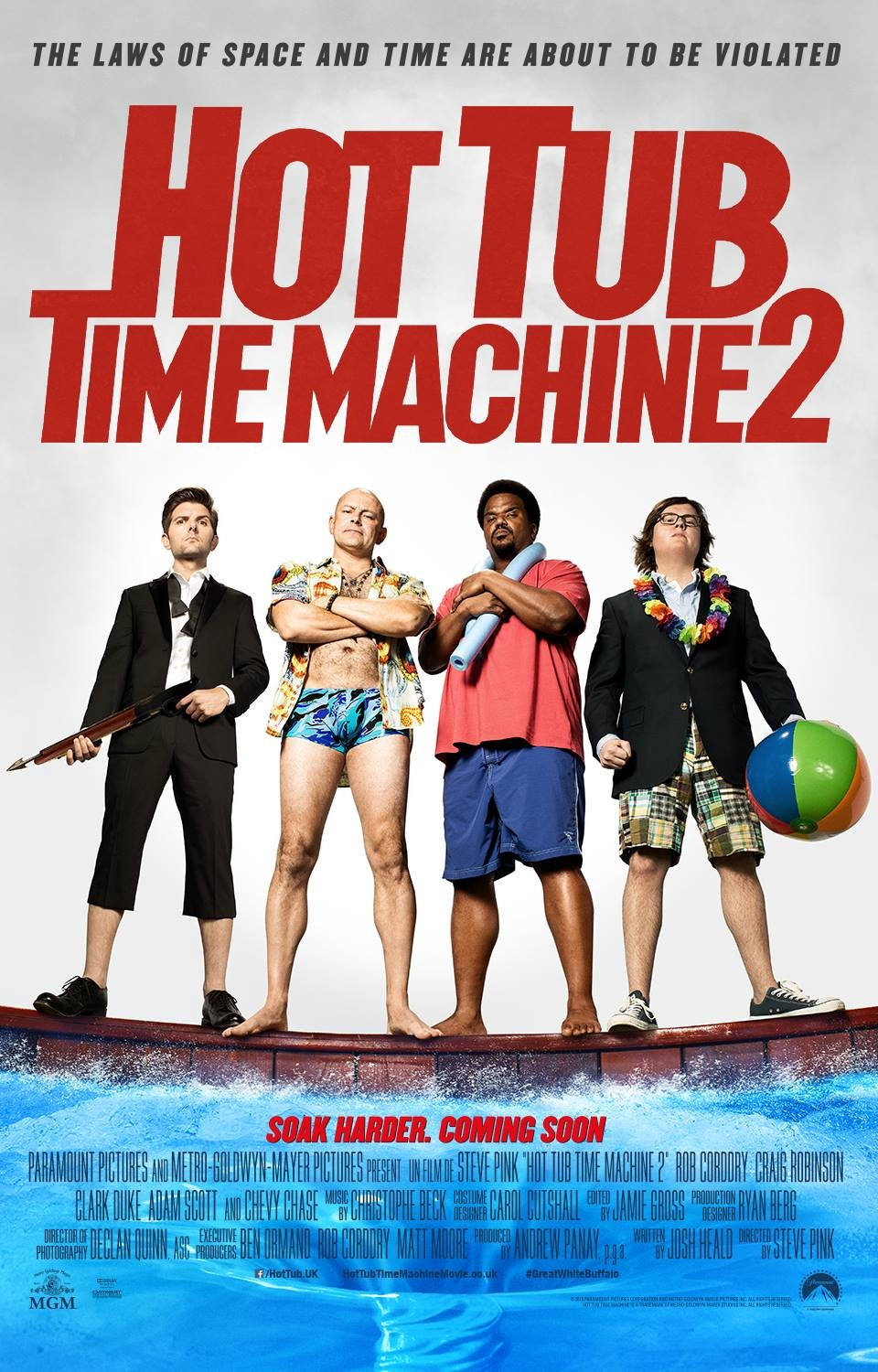Hot tub time machine 2 tráiler.