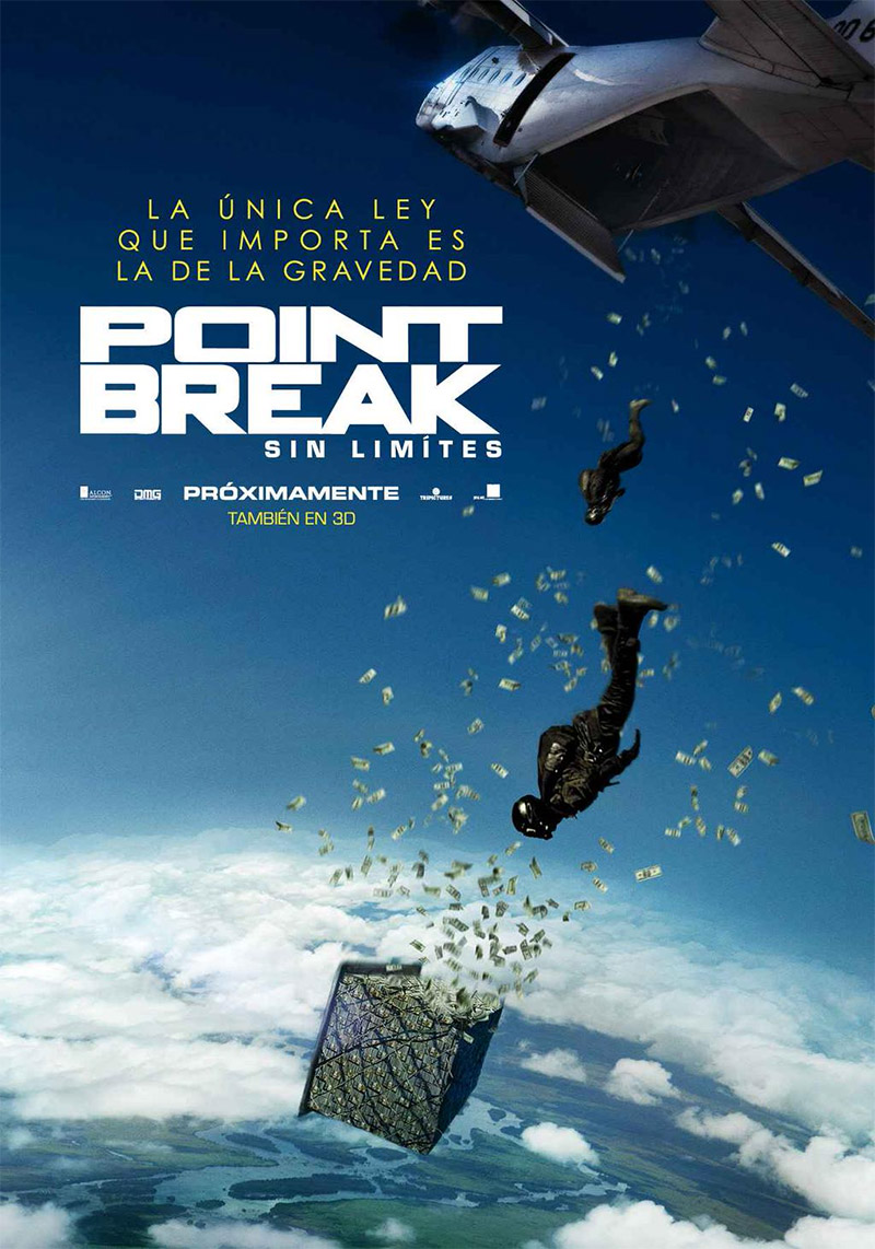 Point Break (sin límites) tráiler.