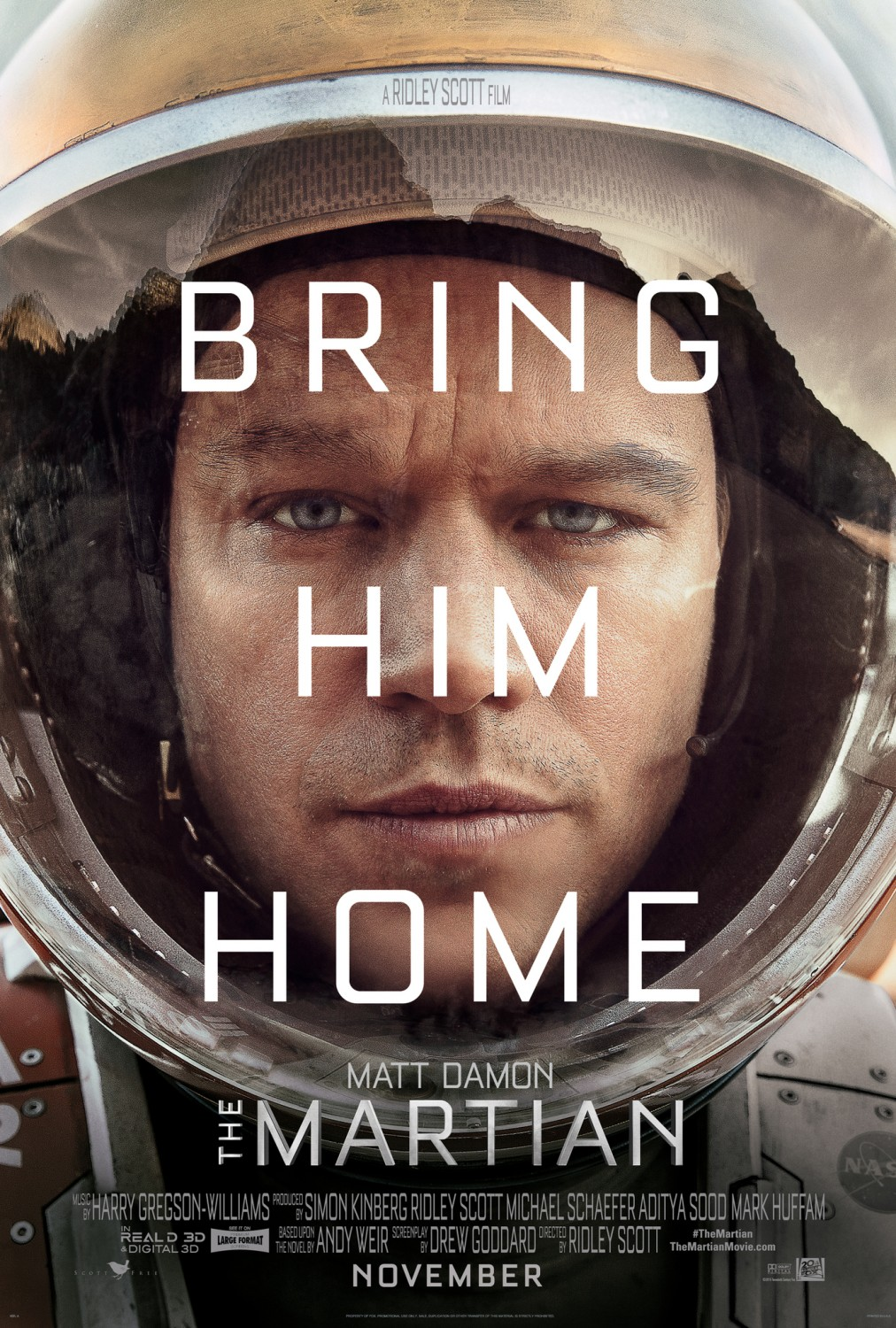 Marte (The Martian) tráiler.