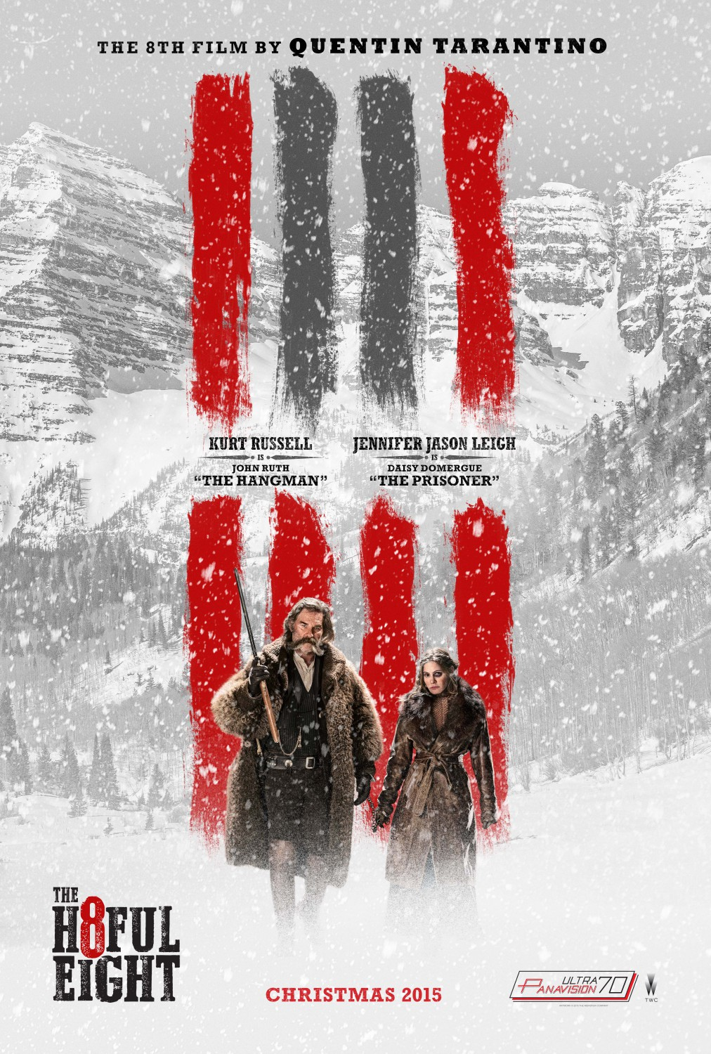The Hateful Eight tráiler.