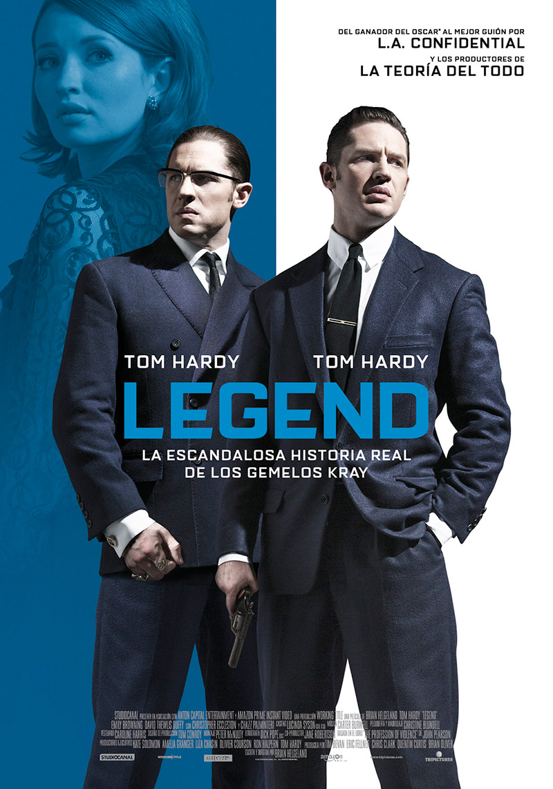Legend tráiler: criminal doble.