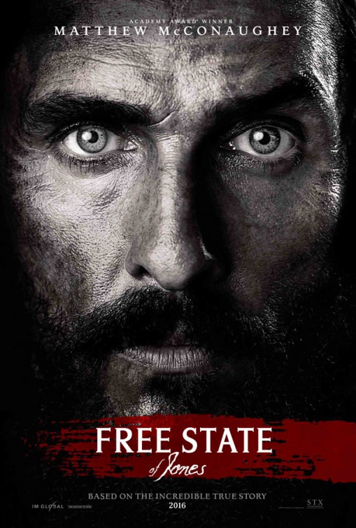 Free State of Jones tráiler.