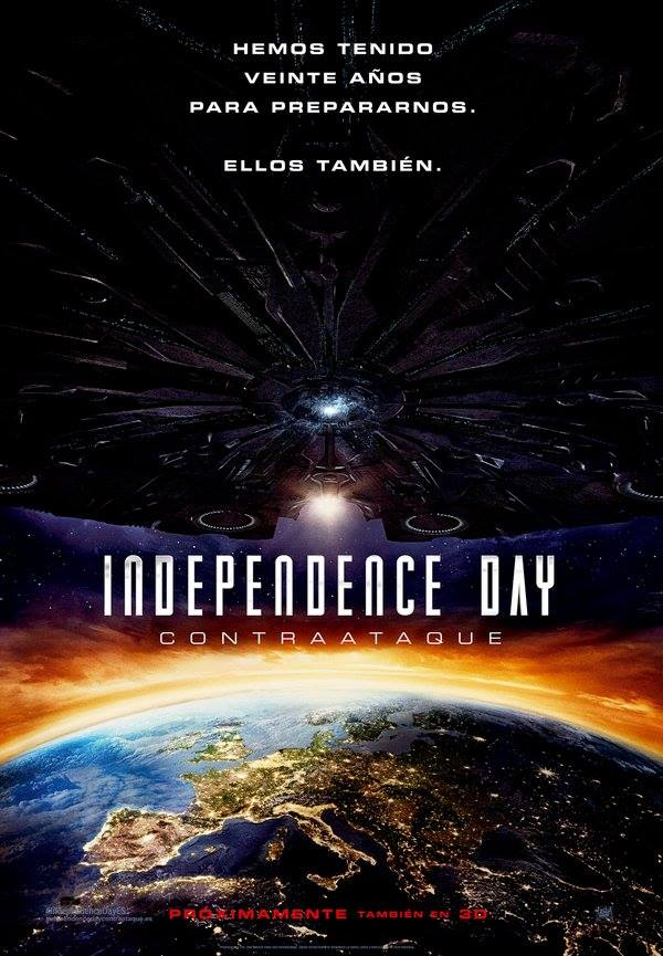 Independence Day: Contraataque. Batalla perdida.