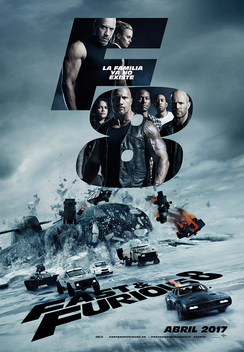 Fast & Furious 8. Micro-Machines de adultos.