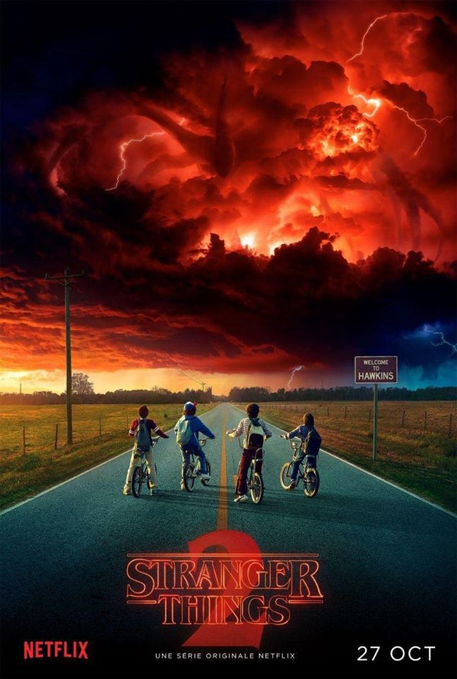Stranger Things 2 tráiler.