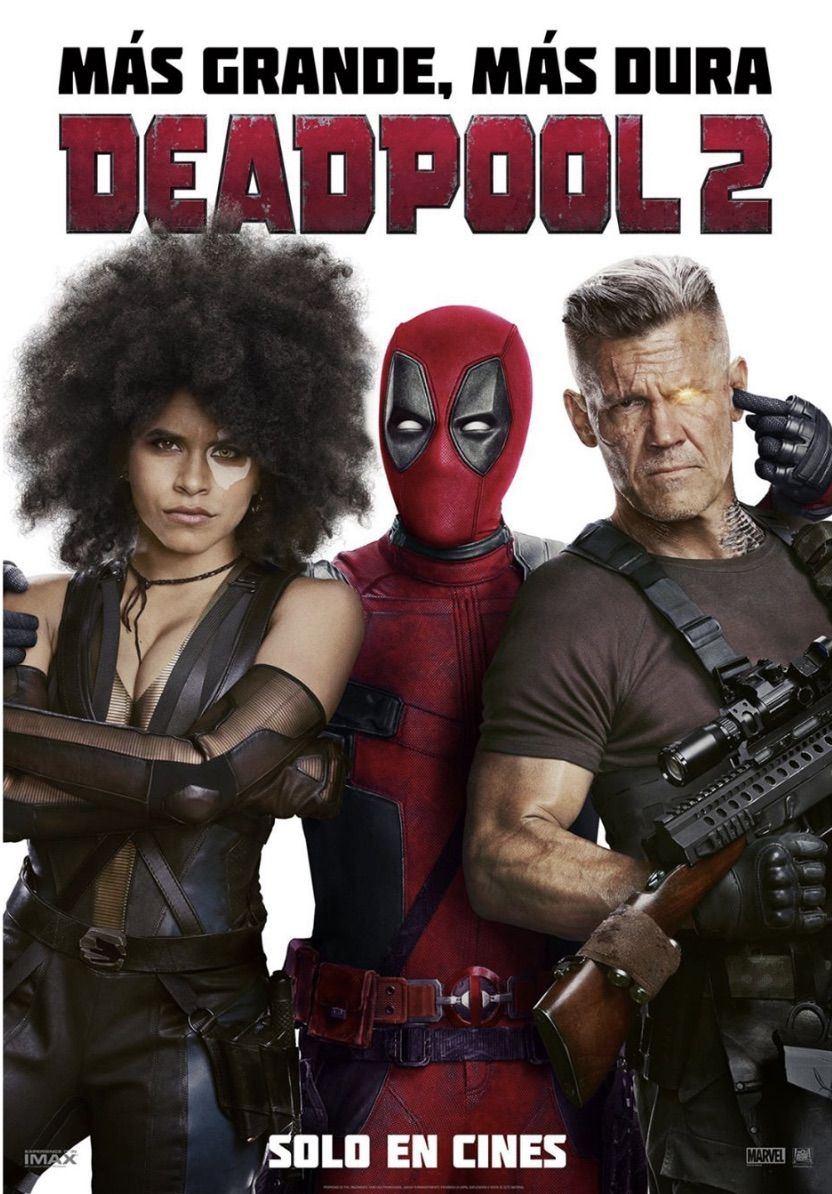 Deadpool 2 tráiler final.