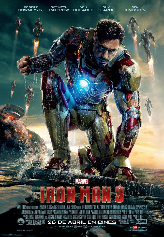 Iron Man 3 tráiler: Stark ultimate.