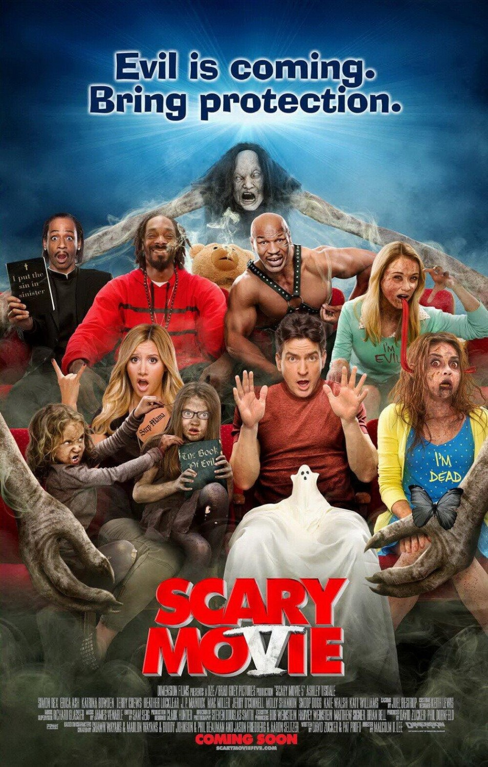 Scary Movie 5 tráiler: bromas paranormales.