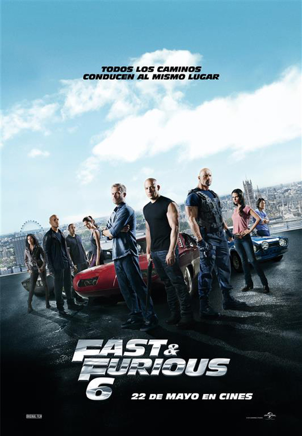 Fast & Furious 6 tráiler final.