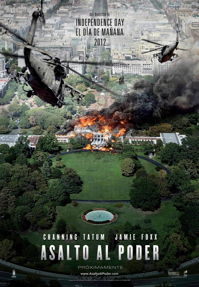 Asalto al Poder tráiler 2: arma letal in the White House.