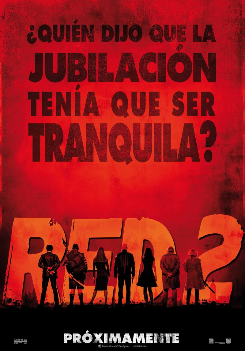 RED 2 tráiler 2: jubilación movidita.