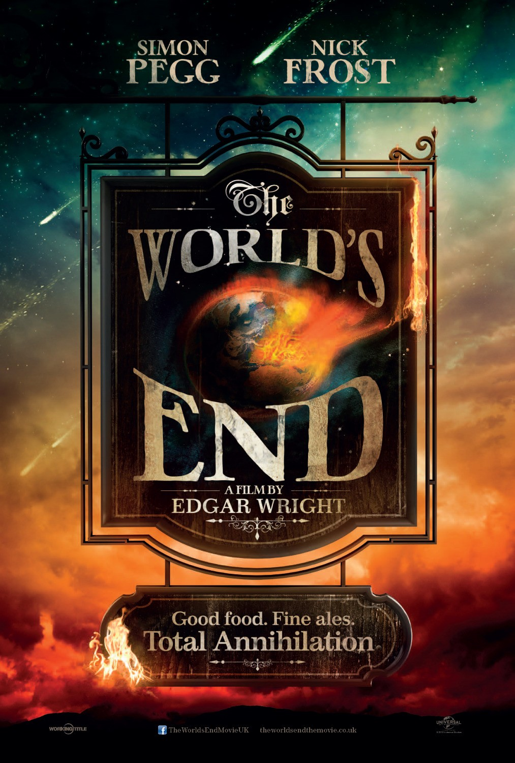 The World's End teaser tráiler: última birra.