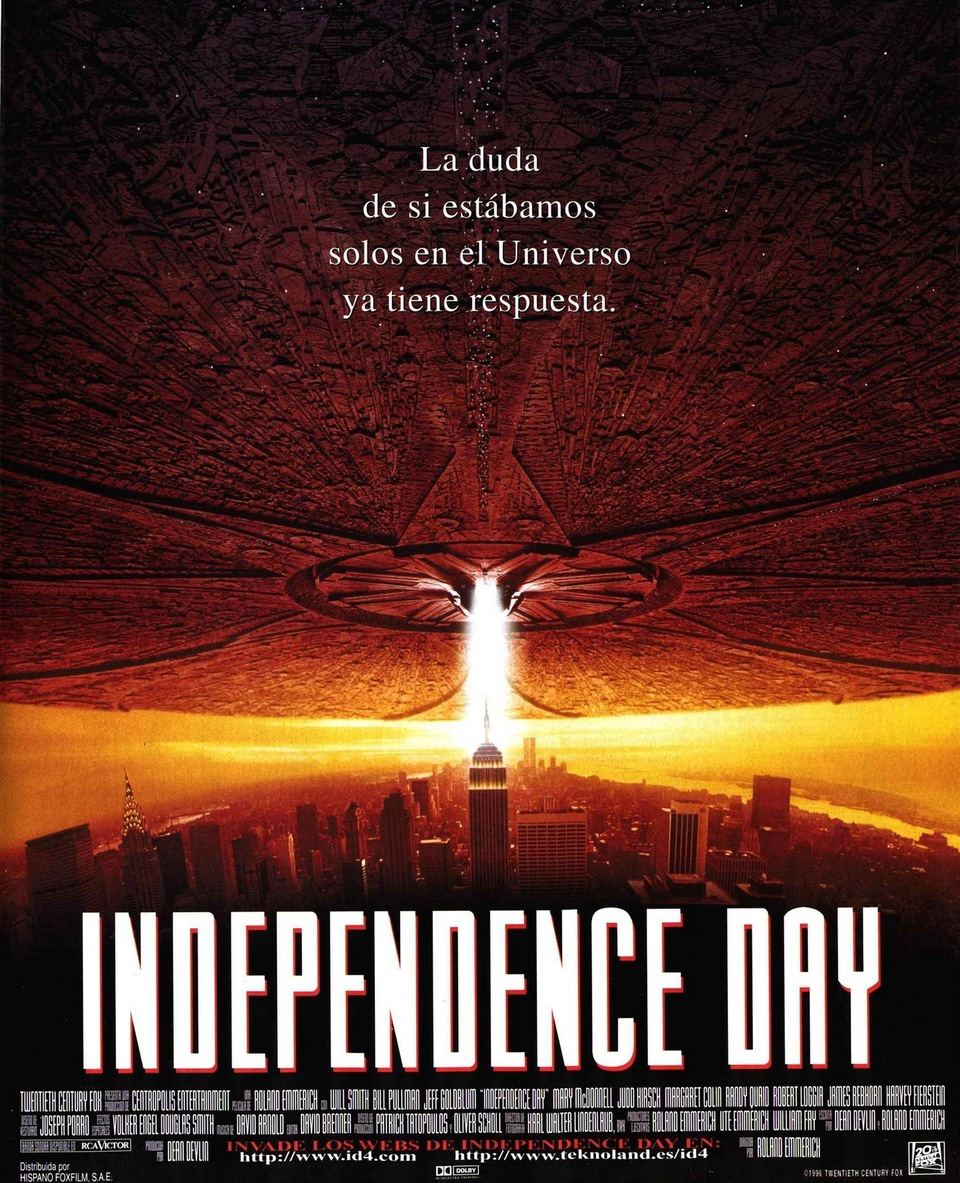 Independence Day 2……sin Will Smith.
