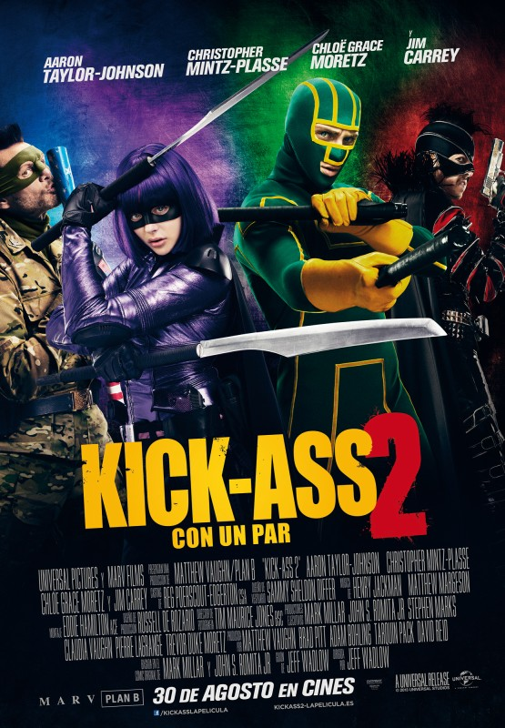 Kick-Ass 2: Con un par tráiler final.