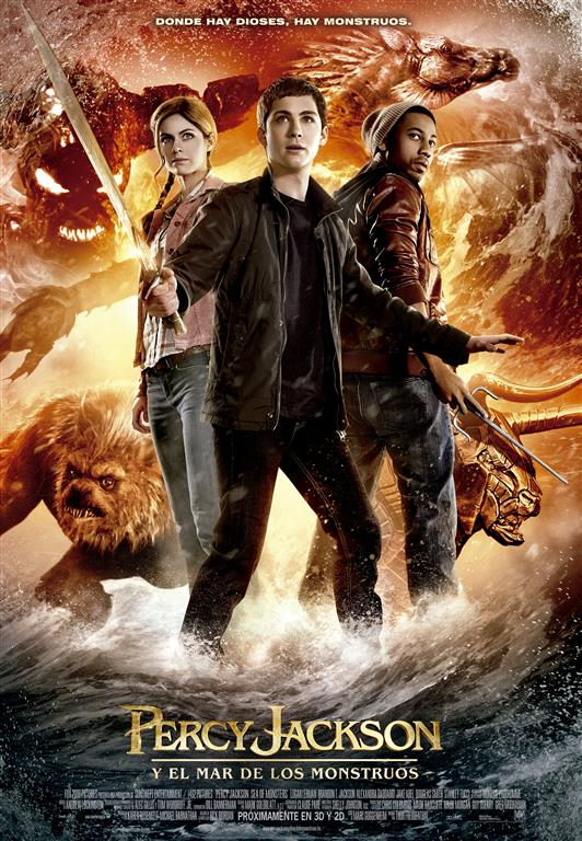 Percy Jackson y el Mar de los Monstruos tráiler final.