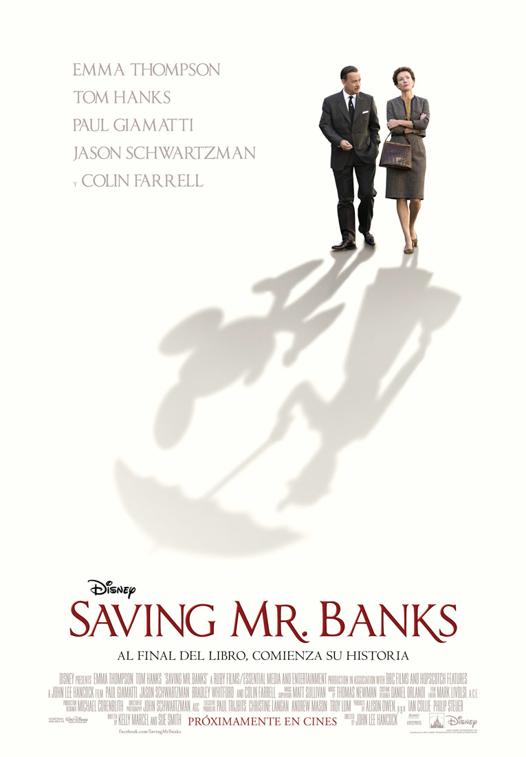 Saving Mr. Banks tráiler: Disney y Poppins.