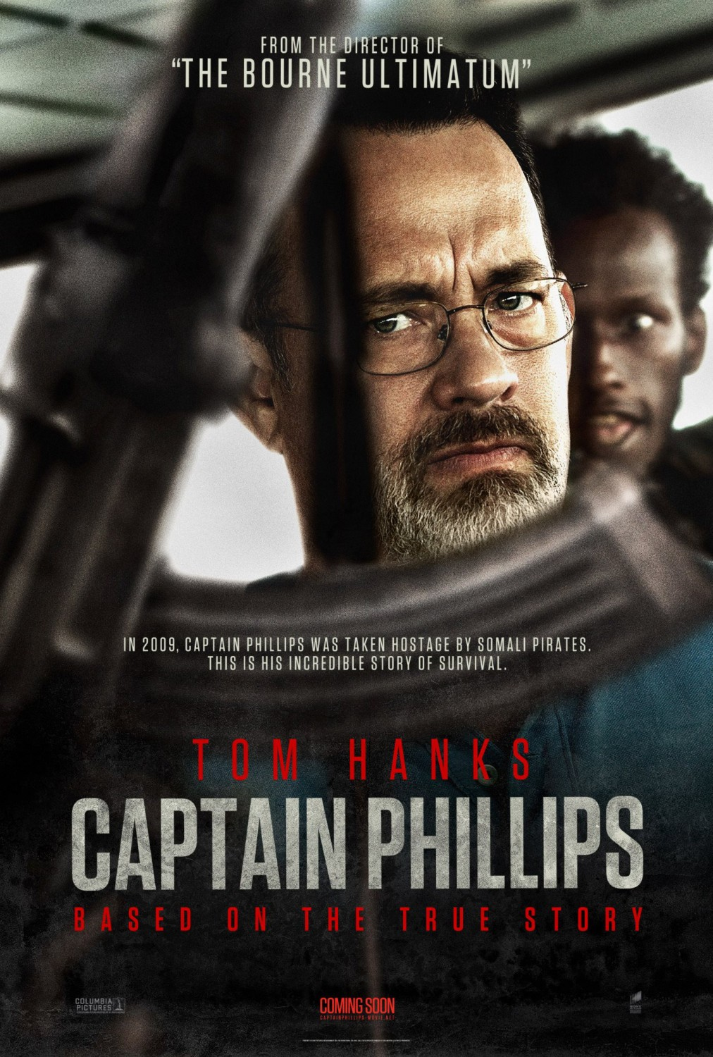 Capitán Phillips tráiler final: Hanks secuestrado.