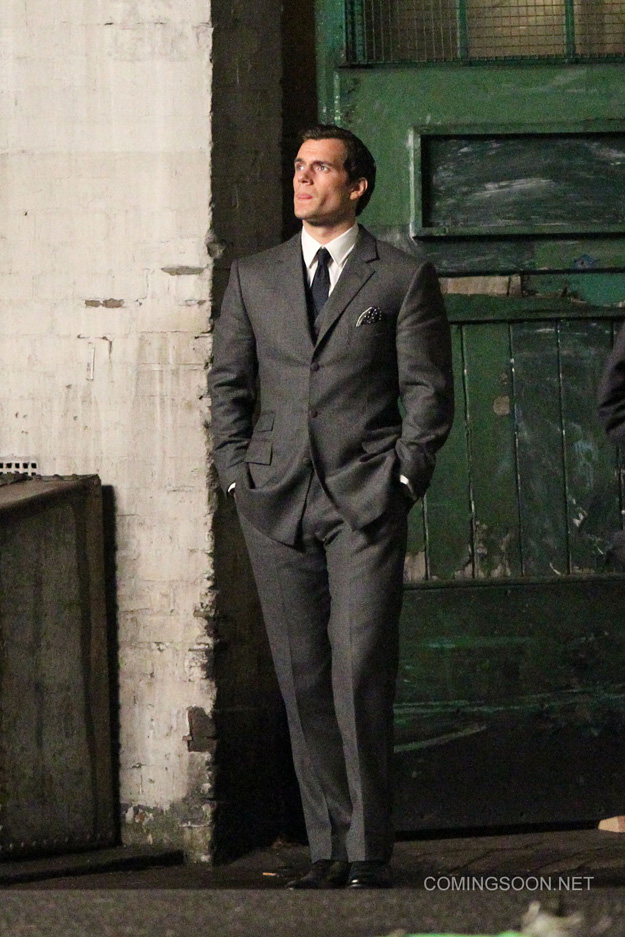 The Man from U.N.C.L.E. es Henry Cavill.