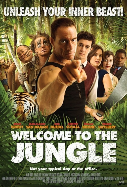 Welcome to the Jungle tráiler: Van Damme es Frank de la Jungla.