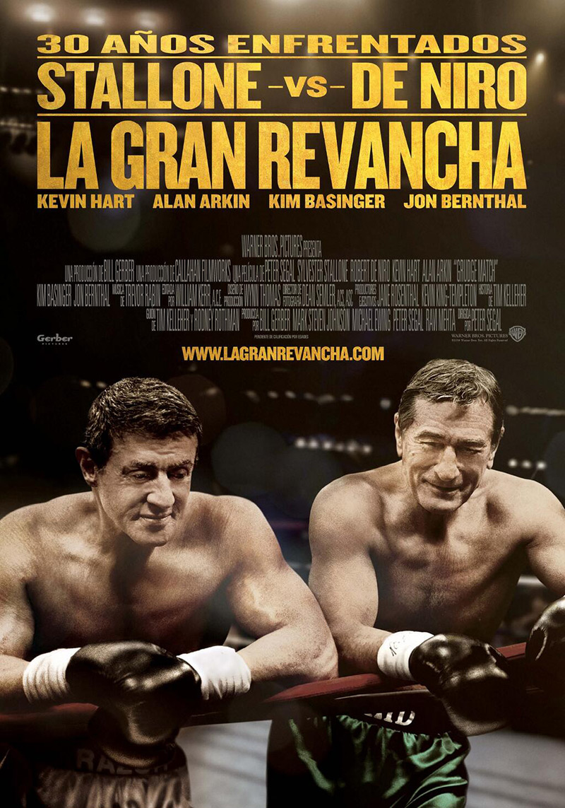 La Gran Revancha tráiler final: De Niro Vs. Sly.