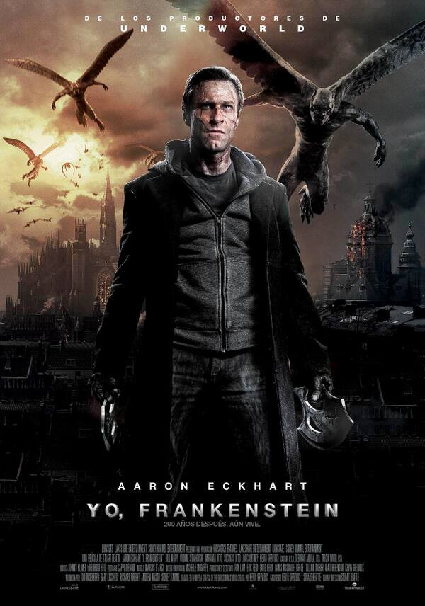 Yo, Frankenstein tráiler final.