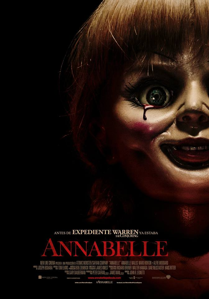Annabelle tráiler final: el expediente previo.