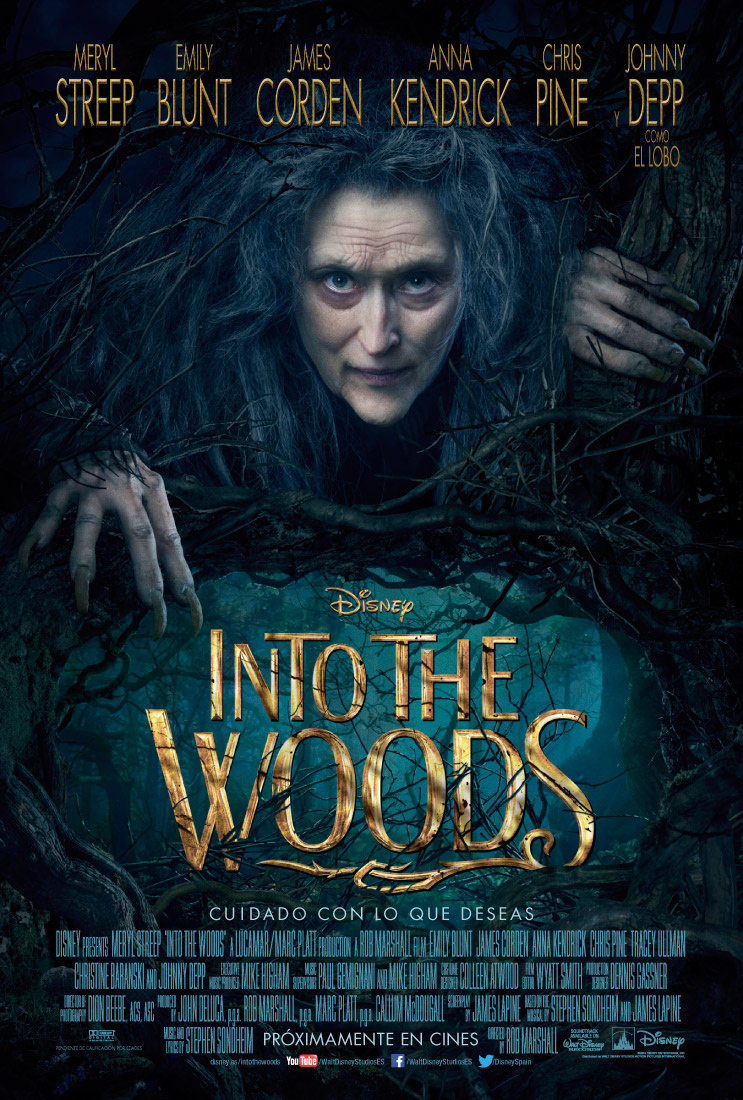 Into the Woods tráiler: Depp y la abuelita.