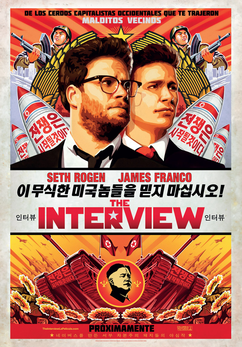 The Interview tráiler: guerra con Corea.